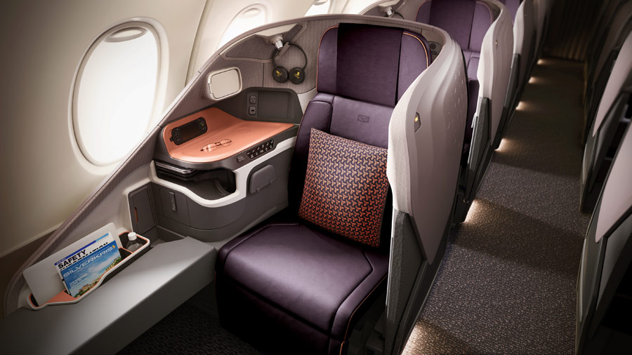 Singapore Airline neue Business-Class