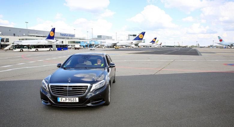 Das ist Luxus: Mit der Limosine bis zum Gate. Foto: Fraport AG