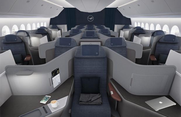 Der neue Lufthansa Business-Class-Sitz