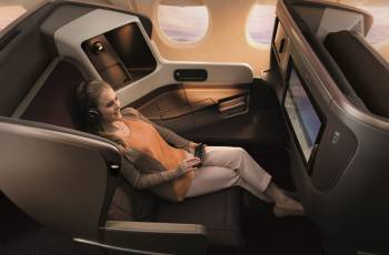 Singapore Airlines: Neuer Business Class Sitz