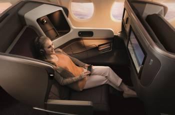 Singapore Airlines: Neuer Business Class Sitz