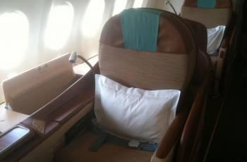 Oman Air: Business Class Sitz im A330