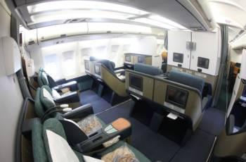 Die Business Class von Aerolineas Argentinas