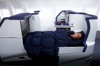 All Nipon Airways - Neuer Business Class Sitz