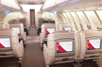 Asiana Airlines: Business Class in der Boeing 747