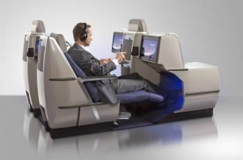 Brussels Airlines - Neuer Business Class Sitz