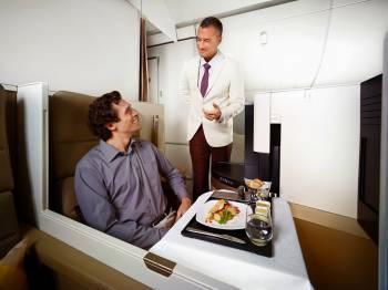Das neue Business Studio im A380 und der Boeing 787