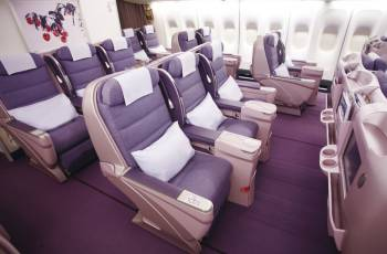 China Airlines: Business Class in der Boeing 747-400
