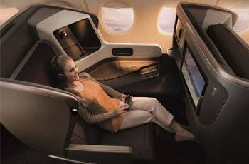 Singapore Airlines: Neue Business Class