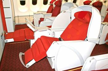 Hainan Airlines: Business Class Sitz