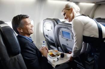 Die Business Class von Icelandair