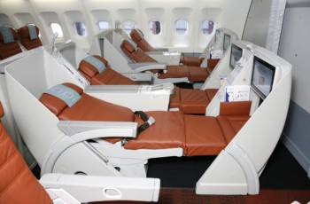 SriLankan Airlines: Flache Schlafsitze in der Neuen Business Class